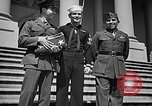 Image of 7th War Loan drive with Iwo Jima heroes Washington DC USA, 1945, second 9 stock footage video 65675045094