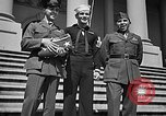 Image of 7th War Loan drive with Iwo Jima heroes Washington DC USA, 1945, second 10 stock footage video 65675045094