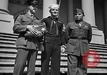 Image of 7th War Loan drive with Iwo Jima heroes Washington DC USA, 1945, second 11 stock footage video 65675045094