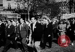 Image of communist May Day parades Paris and Berlin East Germany Europe, 1950, second 7 stock footage video 65675045097
