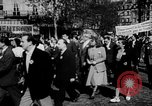 Image of communist May Day parades Paris and Berlin East Germany Europe, 1950, second 8 stock footage video 65675045097