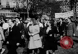 Image of communist May Day parades Paris and Berlin East Germany Europe, 1950, second 9 stock footage video 65675045097