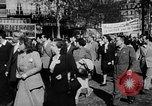 Image of communist May Day parades Paris and Berlin East Germany Europe, 1950, second 10 stock footage video 65675045097