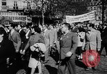 Image of communist May Day parades Paris and Berlin East Germany Europe, 1950, second 11 stock footage video 65675045097