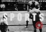 Image of professional wrestling match Cleveland Ohio USA, 1950, second 4 stock footage video 65675045098