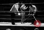 Image of professional wrestling match Cleveland Ohio USA, 1950, second 6 stock footage video 65675045098
