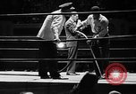 Image of professional wrestling match Cleveland Ohio USA, 1950, second 7 stock footage video 65675045098