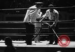 Image of professional wrestling match Cleveland Ohio USA, 1950, second 8 stock footage video 65675045098