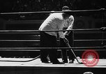 Image of professional wrestling match Cleveland Ohio USA, 1950, second 9 stock footage video 65675045098