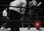 Image of professional wrestling match Cleveland Ohio USA, 1950, second 10 stock footage video 65675045098