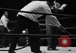 Image of professional wrestling match Cleveland Ohio USA, 1950, second 11 stock footage video 65675045098