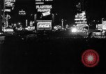 Image of Times Square New York United States USA, 1937, second 9 stock footage video 65675045110