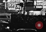 Image of Times Square New York City USA, 1936, second 1 stock footage video 65675045111