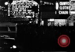 Image of Times Square New York City USA, 1936, second 2 stock footage video 65675045111