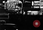 Image of Times Square New York City USA, 1936, second 4 stock footage video 65675045111
