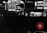 Image of Times Square New York City USA, 1936, second 12 stock footage video 65675045111