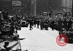 Image of motorcade New York City United States USA, 1951, second 11 stock footage video 65675045123