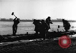Image of flooded area Netherlands, 1953, second 6 stock footage video 65675045133