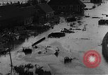 Image of flooded area Netherlands, 1953, second 10 stock footage video 65675045133