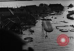 Image of flooded area Netherlands, 1953, second 12 stock footage video 65675045133