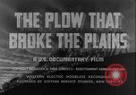 Image of plains land United States USA, 1936, second 6 stock footage video 65675045146