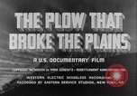 Image of plains land United States USA, 1936, second 8 stock footage video 65675045146