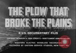 Image of plains land United States USA, 1936, second 9 stock footage video 65675045146