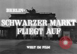 Image of black marketing Berlin Germany, 1946, second 6 stock footage video 65675045159