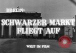 Image of black marketing Berlin Germany, 1946, second 9 stock footage video 65675045159