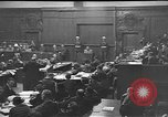 Image of war crimes trials Nuremberg Germany, 1946, second 9 stock footage video 65675045160