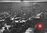 Image of war crimes trials Nuremberg Germany, 1946, second 10 stock footage video 65675045160