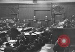Image of war crimes trials Nuremberg Germany, 1946, second 12 stock footage video 65675045160