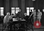 Image of Chiefs of Staff at conference Quebec Canada, 1946, second 5 stock footage video 65675045163
