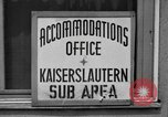 Image of Vogelweh housing area Kaiserslautern Germany, 1955, second 7 stock footage video 65675045168