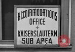 Image of Vogelweh housing area Kaiserslautern Germany, 1955, second 8 stock footage video 65675045168