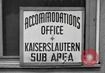 Image of Vogelweh housing area Kaiserslautern Germany, 1955, second 11 stock footage video 65675045168
