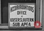 Image of Vogelweh housing area Kaiserslautern Germany, 1955, second 12 stock footage video 65675045168