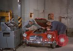 Image of repair a car Alaska USA, 1960, second 5 stock footage video 65675045185