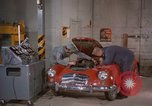 Image of repair a car Alaska USA, 1960, second 6 stock footage video 65675045185