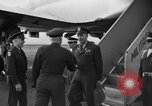 Image of US Army Generals arrive Tokyo Japan, 1951, second 4 stock footage video 65675045194
