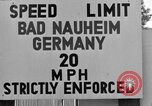 Image of life of military dependents Bad Nauheim Germany, 1946, second 3 stock footage video 65675045201