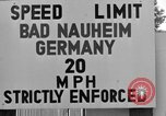 Image of life of military dependents Bad Nauheim Germany, 1946, second 6 stock footage video 65675045201