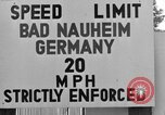 Image of life of military dependents Bad Nauheim Germany, 1946, second 8 stock footage video 65675045201