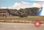 Image of Army UH-1B with red cross Vietnam, 1965, second 1 stock footage video 65675045232