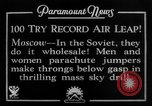 Image of parachute jumpers Moscow Russia Soviet Union, 1934, second 11 stock footage video 65675045241