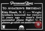 Image of Wright brothers Kitty Hawk North Carolina USA, 1934, second 9 stock footage video 65675045243