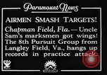 Image of strafing practice Chapman Field Florida USA, 1934, second 8 stock footage video 65675045248