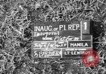 Image of inauguration ceremony Manila Philippines, 1946, second 4 stock footage video 65675045282