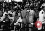 Image of inauguration ceremony Manila Philippines, 1946, second 7 stock footage video 65675045282