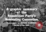 Image of Republican Party convention Chicago Illinois USA, 1960, second 7 stock footage video 65675045305